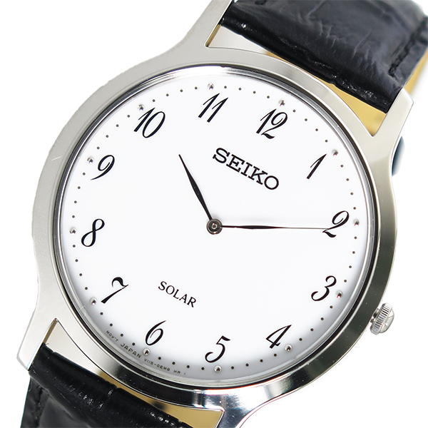 セイコー SEIKO クオーツ メンズ 腕時計 SUP863P1 ホワイト【送料無料】