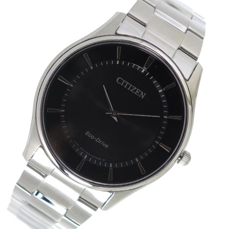 シチズン CITIZEN クオーツ メンズ 腕時計 BJ6481-58E ブラック【送料無料】