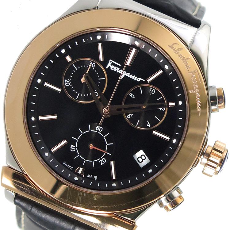 サルヴァトーレ フェラガモ Ferragamo メンズ 腕時計 FH6030016 ブラック【送料無料】