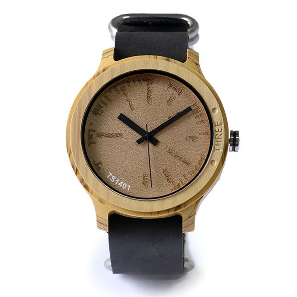 タックス TACS NATURE-L 腕時計 TS1401B ナチュラル×ブラック【送料無料】