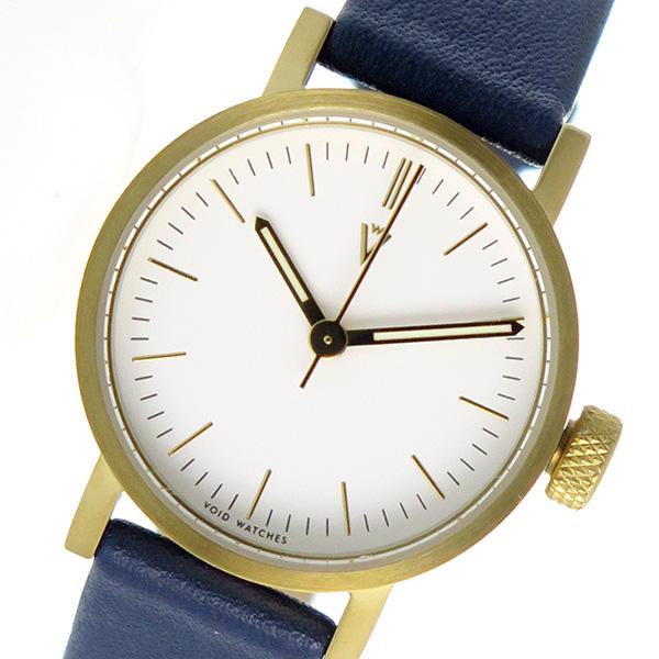 ピーオーエス POS ヴォイド VOID V03P-GO/RB/WH 腕時計 ホワイト ネイビー【送料無料】