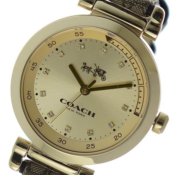 コーチ COACH スポーツ 1941SPORT クオーツ レディース 腕時計 14502539 ゴールド【送料無料】