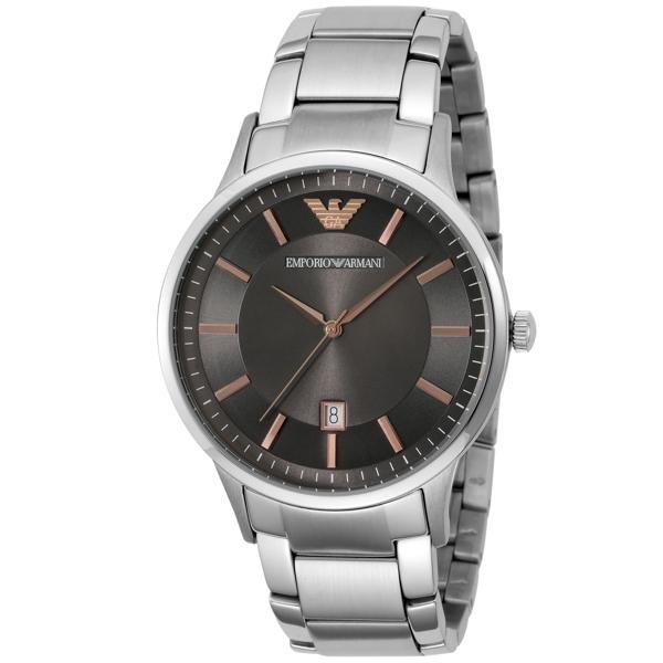 エンポリオ アルマーニ EMPORIO ARMANI クオーツ メンズ 腕時計 AR2514 ブラック【送料無料】