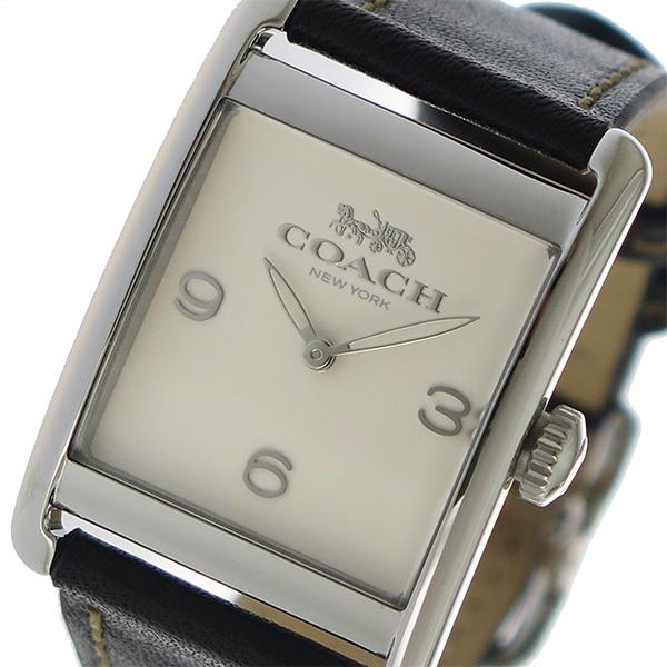 コーチ COACH クオーツ レディース 腕時計 14502830 アイボリー【送料無料】