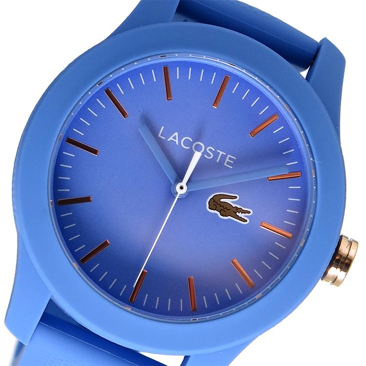 ラコステ LACOSTE クオーツ レディース 腕時計 2001004 ブルー【送料無料】
