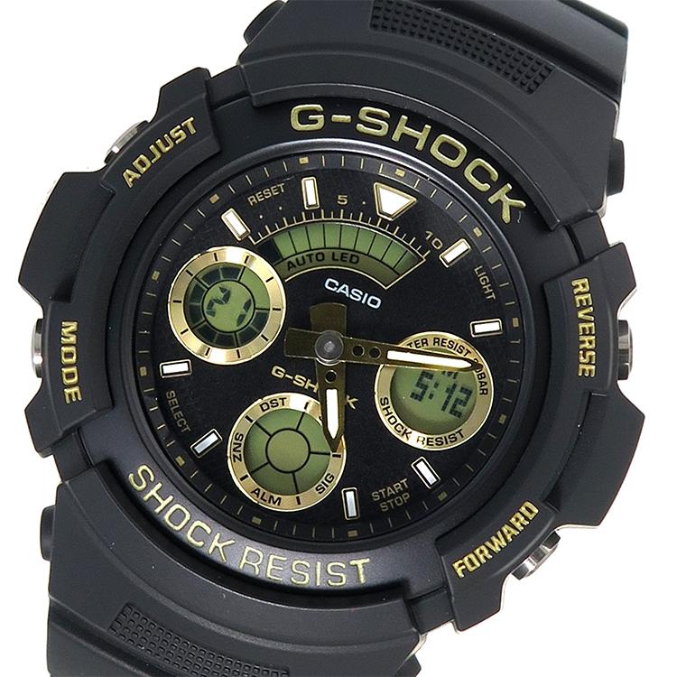 カシオ CASIO Gショック G-SHOCK クオーツ メンズ 腕時計 AW-591GBX-1A9 ブラック