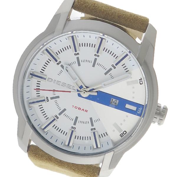 ディーゼル DIESEL クオーツ メンズ 腕時計 時計 DZ1783 ホワイト