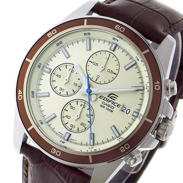 カシオ CASIO エディフィス EDIFICE クオーツ メンズ 腕時計 EFR-526L-7BV ゴールド