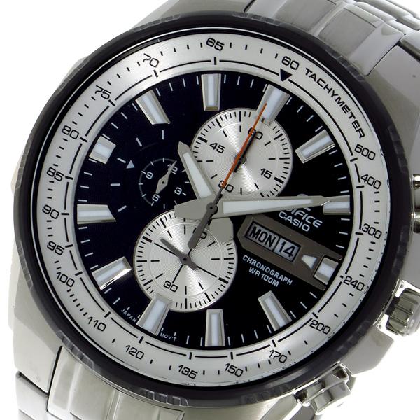 カシオ CASIO エディフィス EDIFICE クロノ クォーツ メンズ 腕時計 EFR549D1B ブラック【送料無料】