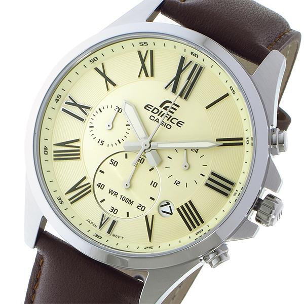 カシオ CASIO エディフィス EDIFICE クオーツ メンズ 腕時計 EFV-500L-7AV ゴールド