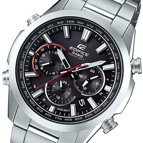 カシオ CASIO エディフィス EDIFICE クオーツ メンズ 腕時計 EQW-T650D-1AJF ブラック 国内正規【送料無料】