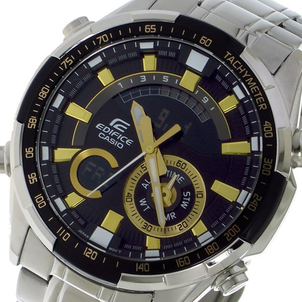 カシオ CASIO エディフィス EDIFICE クロノ クォーツ メンズ 腕時計 ERA600D1A9V ブラック【送料無料】