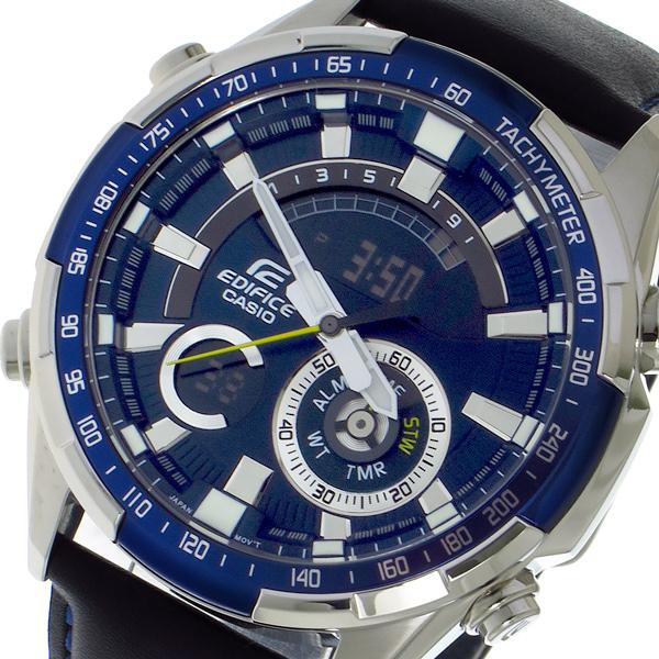 カシオ CASIO エディフィス EDIFICE クロノ クォーツ メンズ 腕時計 ERA600L2AV ブルー【送料無料】