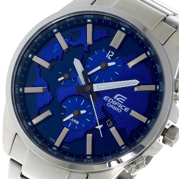 カシオ CASIO エディフィス EDIFICE クロノ クォーツ メンズ 腕時計 ETD300D2AV ブルー【送料無料】