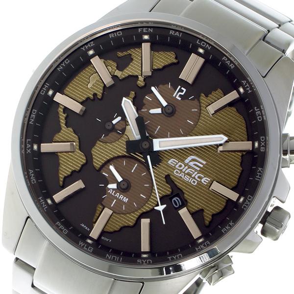 カシオ CASIO エディフィス EDIFICE クロノ クォーツ メンズ 腕時計 ETD300D5AV ブラウン【送料無料】