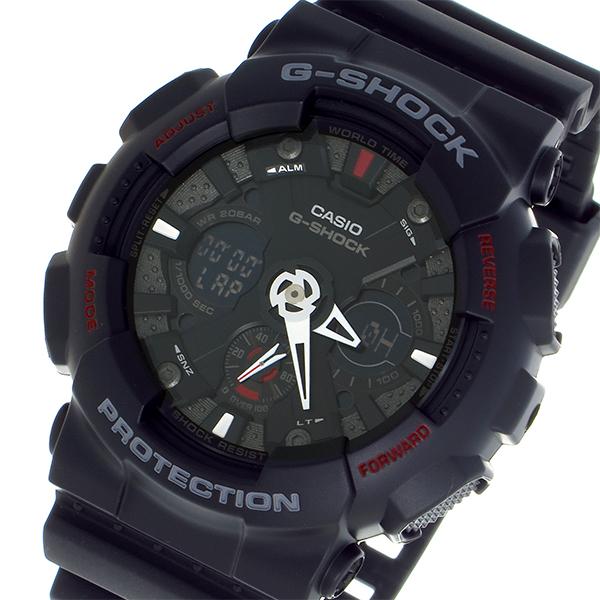 カシオ CASIO Gショック G-SHOCK デジアナ メンズ 腕時計 GA-120-1 ブラック/グレー【送料無料】