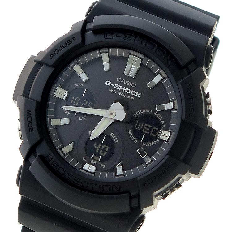 カシオ CASIO Gショック G-SHOCK クオーツ メンズ 腕時計 GAS-100B-1A ブラック【送料無料】