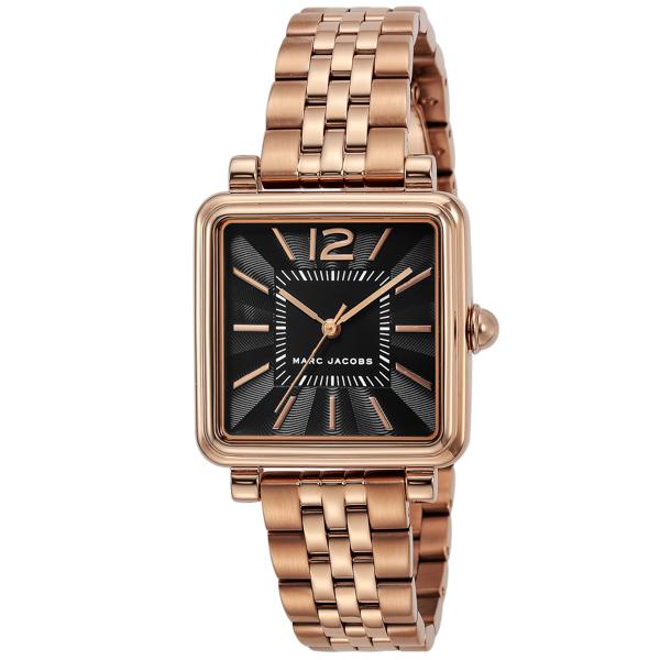 マークジェイコブス MARC JACOBS VIC30 ヴィク クオーツ レディース 腕時計 MJ3517 ブラック【送料無料】