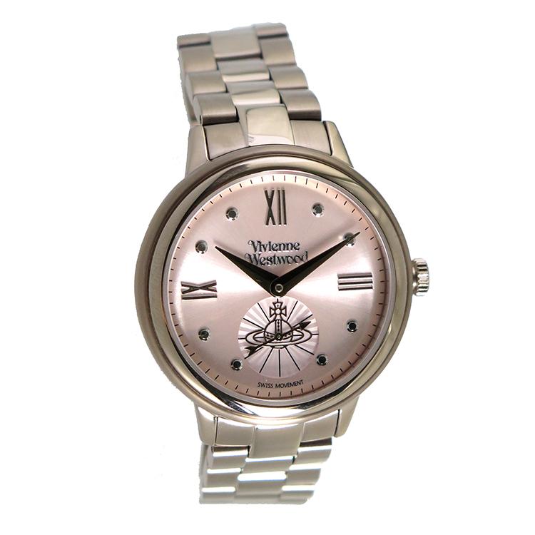 ヴィヴィアンウエストウッド Vivienne Westwood クオーツ レディース 腕時計 VV158PKNU ピンクゴールド【】【楽ギフ_包装】