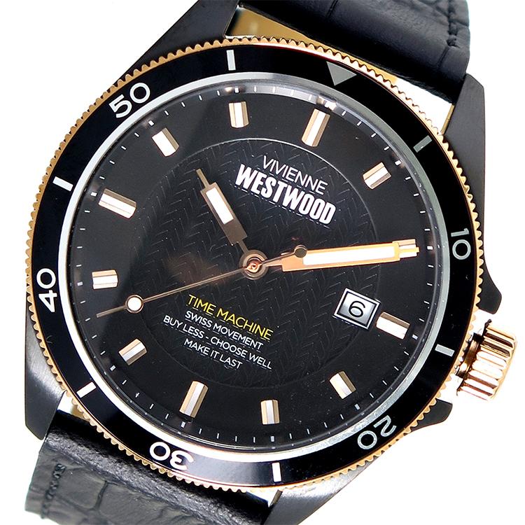 ヴィヴィアンウエストウッド Vivienne Westwood クオーツ メンズ 腕時計 VV181RSBK ブラック【送料無料】