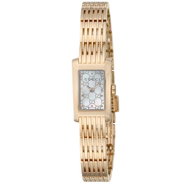 グッチ GUCCI Gメトロ クオーツ レディース 腕時計 YA086517 ホワイトシェル【送料無料】