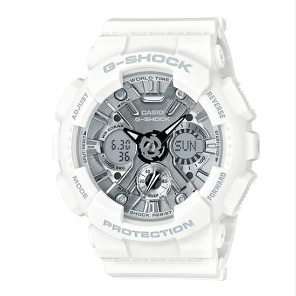 カシオ CASIO Gショック G-SHOCK アナデジ クオーツ メンズ クロノ 腕時計 GMA-S120MF-7A1 グレー【送料無料】