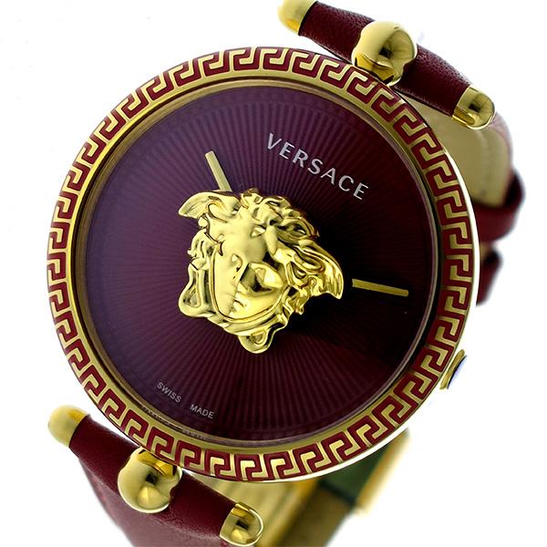 ヴェルサーチ VERSACE PALAZZO EMPIRE クオーツ レディース 腕時計 VCO120017 レッド【送料無料】
