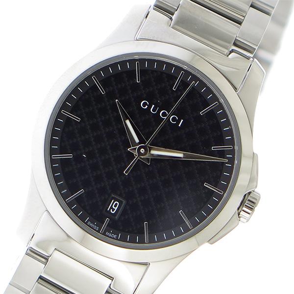 グッチ GUCCI Gタイムレス クオーツ レディース 腕時計 YA126592 ブラック【送料無料】