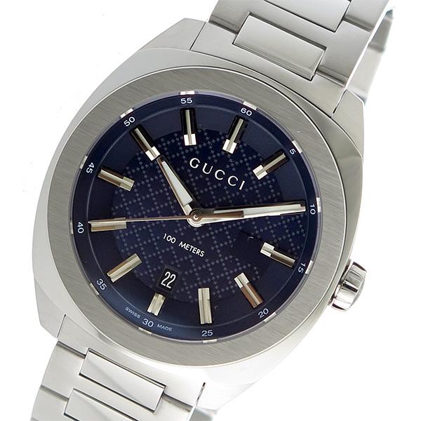 グッチ GUCCI GG2570 クオーツ メンズ 腕時計 YA142314 ブルー【送料無料】