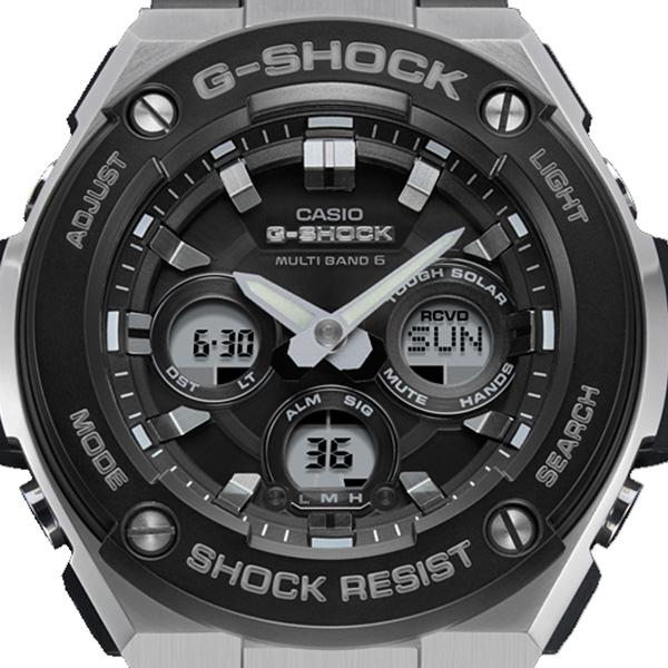 カシオ CASIO Gショック G-SHOCK アナデジ クオーツ メンズ 腕時計 GST-W300-1AJF ブラック 国内正規【送料無料】