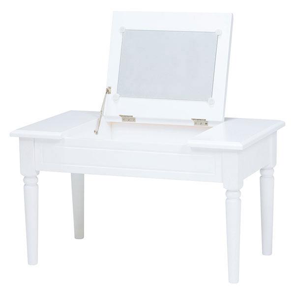 萩原 コスメテーブル(ホワイト) MT-6558WH 4934257235914 【代引き不可】【送料無料】