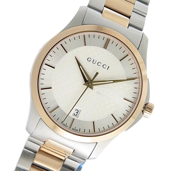 グッチ GUCCI Gタイムレス クオーツ メンズ 腕時計 YA126473 シルバー【送料無料】
