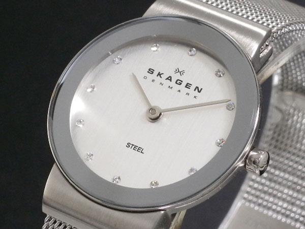 スカーゲン SKAGEN 腕時計 レディース 358SSSD