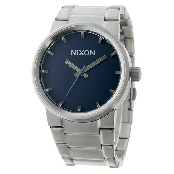 ニクソン NIXON キャノン CANNON クオーツ ユニセックス 腕時計 時計 A160-2076 グレー【楽ギフ_包装】