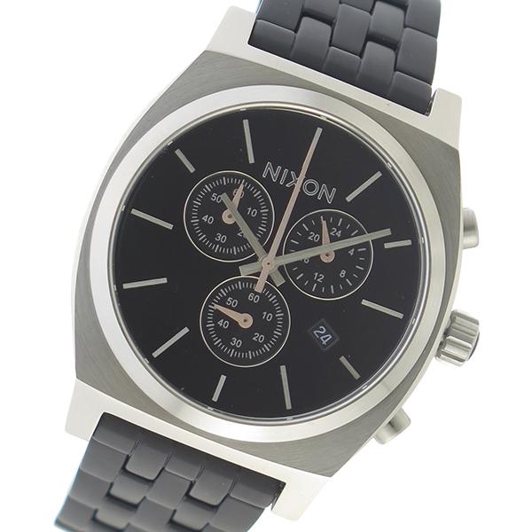 ニクソン NIXON クオーツ メンズ 腕時計 A972-2541 ブラック【送料無料】