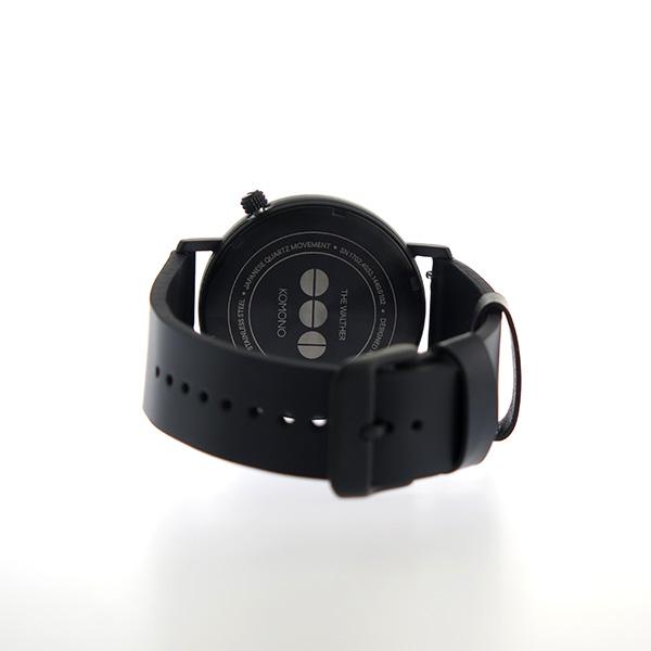 コモノ KOMONO Walther クオーツ ユニセックス 腕時計 KOM-W4033 ネイビー【】【楽ギフ_包装】