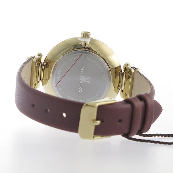 モックバーグ MOCKBERG クオーツ レディース 腕時計 MO108 ホワイト【】【楽ギフ_包装】