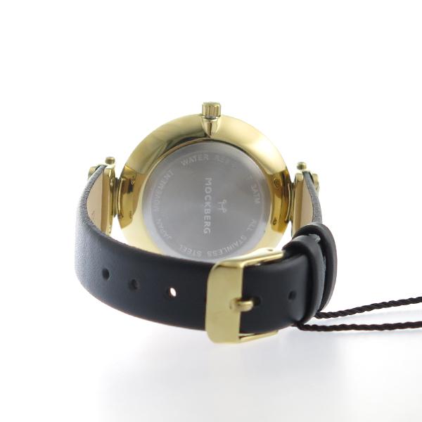 モックバーグ MOCKBERG クオーツ レディース 腕時計 MO113 ブラック【】【楽ギフ_包装】