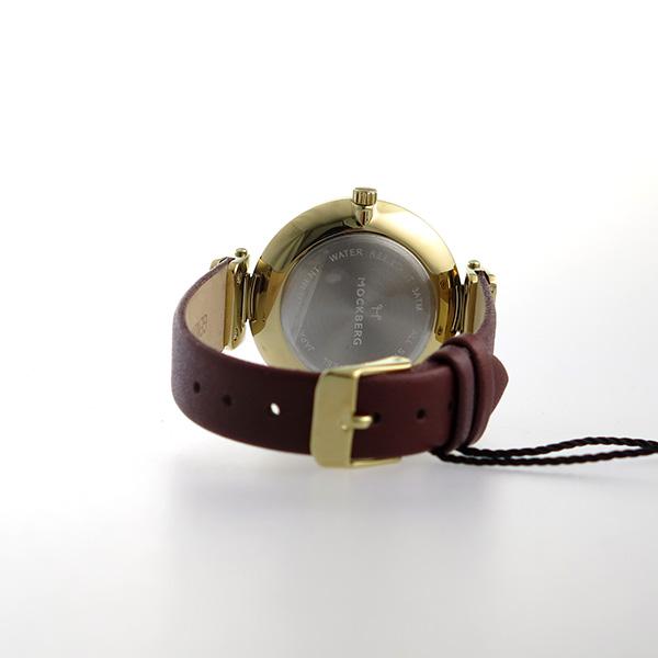 モックバーグ MOCKBERG クオーツ レディース 腕時計 MO114 ブラック【】【楽ギフ_包装】