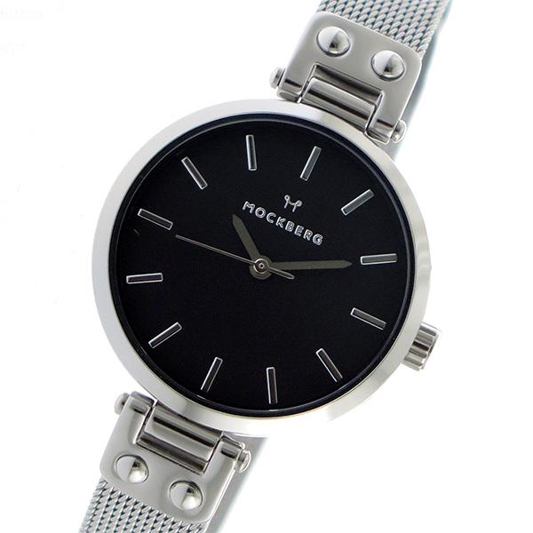 モックバーグ MOCKBERG クオーツ レディース 腕時計 MO404 ブラック【】【楽ギフ_包装】