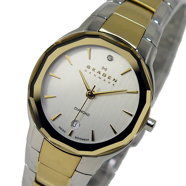スカーゲン SKAGEN クオーツ レディース 腕時計 SKW2104 シルバー【送料無料】