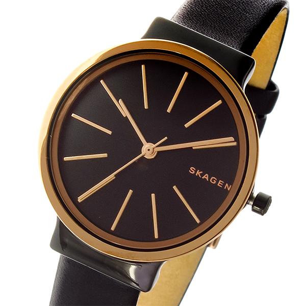 スカーゲン SKAGEN アンカー ANCHER クオーツ レディース 腕時計 SKW2480 ブラック