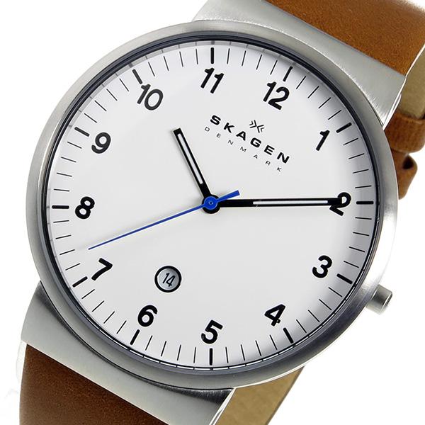 スカーゲン SKAGEN クオーツ メンズ 腕時計 SKW6082 ホワイト【送料無料】