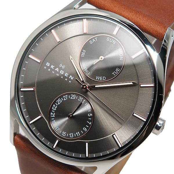 スカーゲン SKAGEN クオーツ メンズ 腕時計 SKW6086 グレー【送料無料】