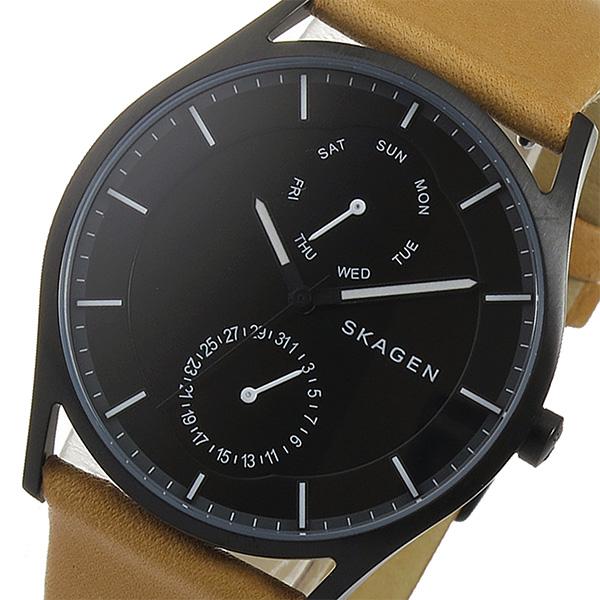 スカーゲン SKAGEN クオーツ メンズ 腕時計 SKW6265 ブラック【送料無料】