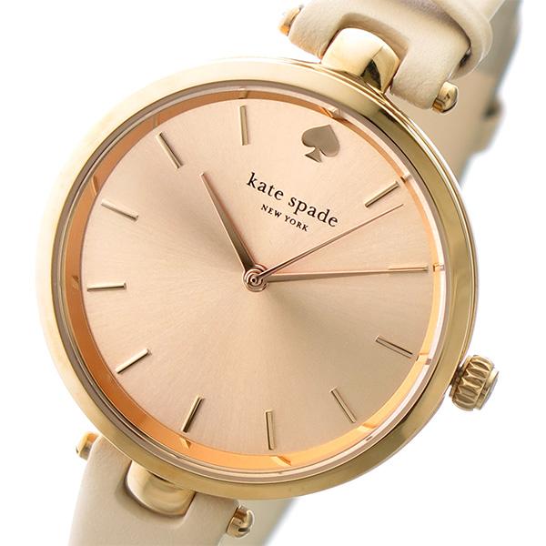 ケイトスペード KATE SPADE クオーツ レディース 腕時計 1YRU0812 ピンクゴールド/ベージュ【送料無料】