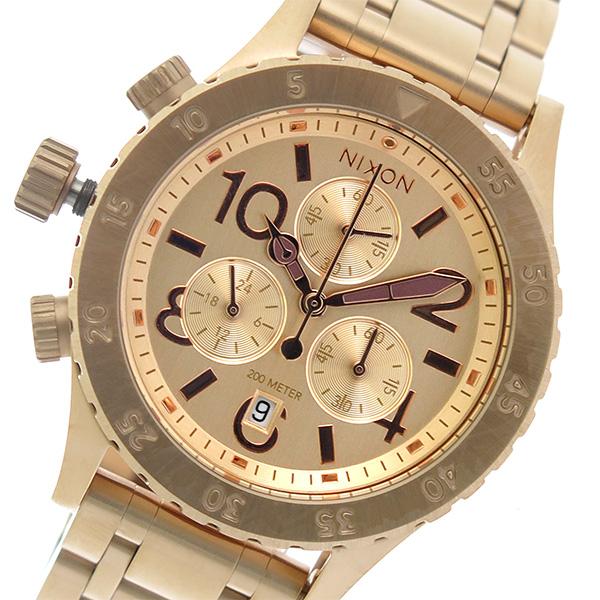 ニクソン NIXON 38-20 クロノグラフ クオーツ ユニセックス 腕時計 A404-1044 ローズゴールド/ローズゴールド【】【楽ギフ_包装】