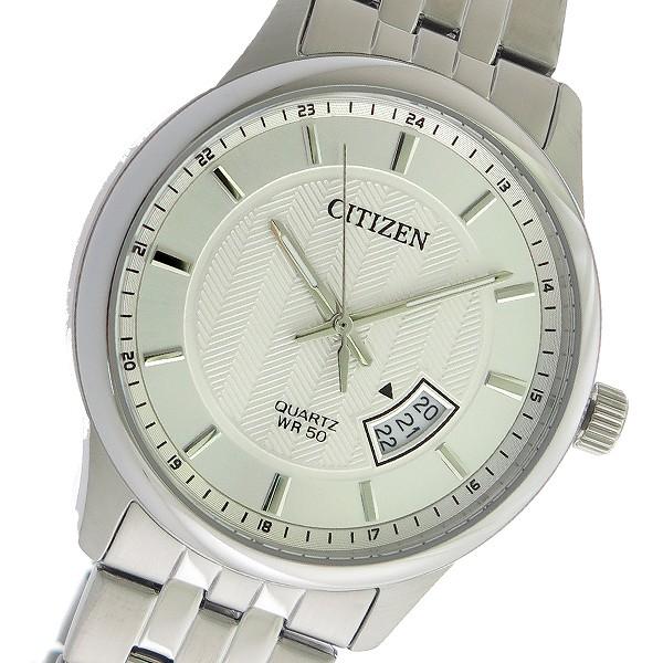 シチズン CITIZEN クオーツ メンズ 腕時計 時計 BI1050-81A シルバー