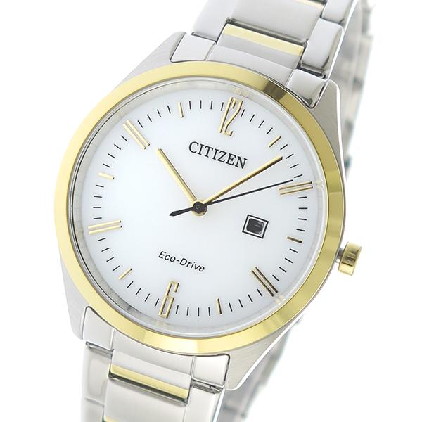 シチズン CITIZEN クオーツ メンズ 腕時計 EW2454-83A ホワイト【送料無料】