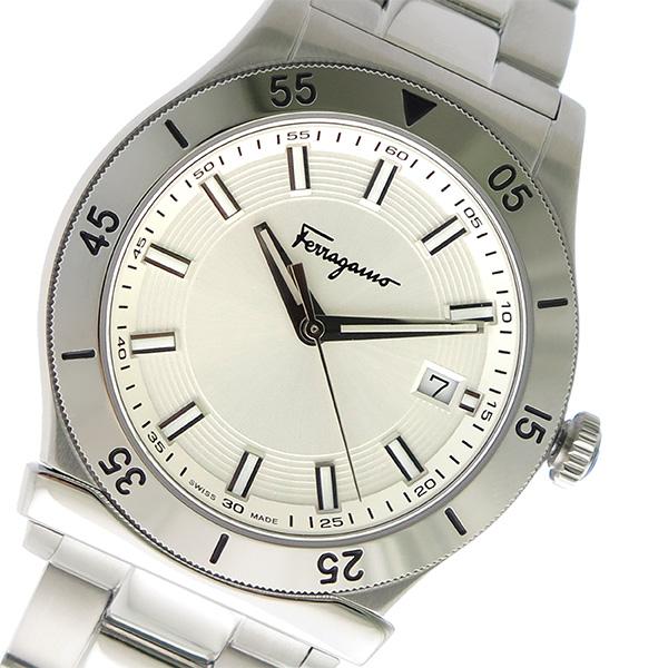 サルヴァトーレ フェラガモ クオーツ メンズ 腕時計 FH1020017 シルバー